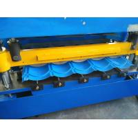 Best Hydraulic Cutting Roof Glazed Tile Roll Forming Machine PLC Automatic Control wholesale