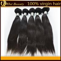 Best 5A Unprocessed Indian Virgin Hair Extensions 12''- 32'' No Tangle wholesale