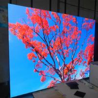 Best P4 Indoor Video Wall Led Display Panel Aluminum Cabinet Golden Brushed wholesale