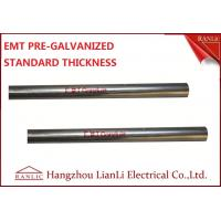 "Best 1-1/2"" Steel Electrical Metallic Conduit with Pre Galvanized Finish 3.05 Meters wholesale"