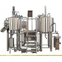 Cheap 1000Ltr SUS304 Customised Draft Beer Brewing Equipment 15M2 Floor Space for sale