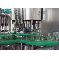 Cheap Glass Bottle 4 in 1 Monoblock Pulp Juice Filling Machine With PLC Control for sale