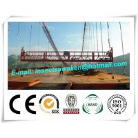 Quality Hanging Scaffold Wind Tower Production Line , Aluminum Steel Suspended Working Platform wholesale