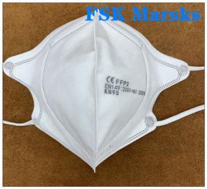 Best Dustproof Disposable FFP2 Mask Respirator Medical Individual Package Splash Proof wholesale