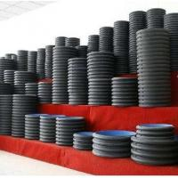 Cheap hdpe pipe suppliers/HDPE double wall Corrugated Pipe/double-wall corrugated pipe for sale