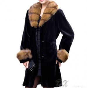 China Women Long Mink Coats on sale