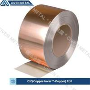 Best Two Layers Copper Invar Copper  C11000 Cu & FeNi36 Cladded Metal Foil wholesale