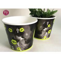 Best Custom Blue Design Keep Calm Flower Paper Bowl For Water Plant wholesale