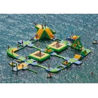 Best High Durability Bouncy Water Park , Aqua Sports Water Park Sea Water Corrosion Preventive wholesale