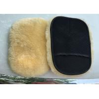Best Extra Thick Single Sided Car Polishing Mitt Gentle Surface Without Washing Marks wholesale