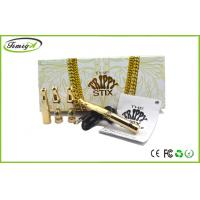 China No Cartridge Stix Wax Vaporizer Pen With All Gold Color With 5 Years Warranty on sale