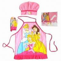 Best Kid's Apron Set, Customized Colors are Accepted wholesale