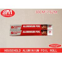Best Recyclable Aluminum Foil Roll 15 Micron Thickness 25ft Length Safe Material wholesale