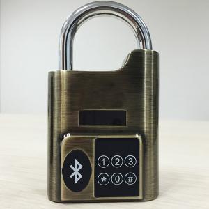Best High Security Intelligent Bluetooth Door Alarm Lock Smart Travel Luggage Padlock wholesale