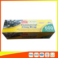 Best Commercial Wrapping Catering Cling Film 45cm Roll / Cooking Film Wrap For Kitchen wholesale