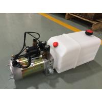 Best High Performance  Dump Trailer Micro Hydraulic Power Packs With 8L Plastic Oil Tank wholesale