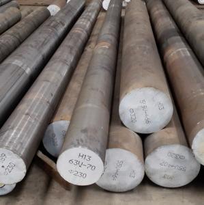 Best EAF + LF Melting Alloy Steel Round Bar 1.2344 H13 SKD61 High Toughness wholesale