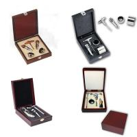 Best 3-piece Stainless Steel Wine Accessory Set in Gift Box wholesale