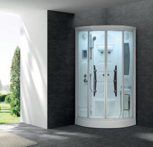 Quality 2016 Prefab Steam Room Steam Engine Model Smart Shower Steam Shower Room with Sauna G258 wholesale