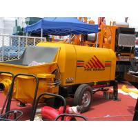 Best 60m3/h Diesel Engine Concrete Pump Trailer Mounted Concrete Pump wholesale