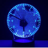 Best Chinese Supplier factory price visual illusion light touch panel 3D led night lamp decoration lamp for Christmas gift wholesale