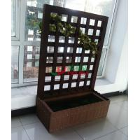 Best Composite Garden Boxes 1035 X 494 X 1500mm , Outdoor Planter Boxes Moisture Resistance wholesale