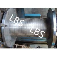 Best Custom Lebus Groove Wire Rope Drum With High Speed Rope Wheel wholesale