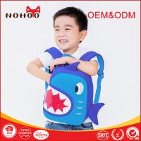 Best Shark Shaped Waterproof 3D Cartoon Kids Preschool School Bags For Toddler wholesale