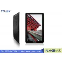 Quality 55 Inch 1080P WIFI wall mounted advertising display Network and 450cd / m2 Brightness wholesale