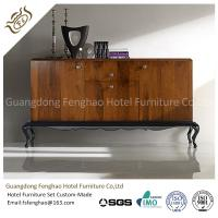 China Antique Vintage Wood Console Table Cabinet With  Drawers For Home Storage on sale