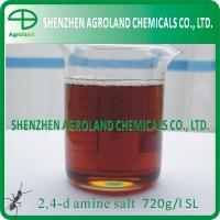 Buy cheap CAS number 94-75-7 Technical Products 2,4 D AMINE SALT 720g/l 860 SL from wholesalers