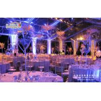 Buy cheap Aluminum frame Luxury Wedding Event canopy Big Tent Event Tents of PVC material from wholesalers