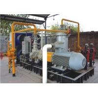 Best Water Injected Nature / Flammable Gas Screw Compressor ,Suction pressure 0.25 MPa, Discharge Pressure 1.0 MPa wholesale