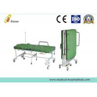 Best Powder Coated Steel Medical Foldable Hospital Bed With Mattress (ALS-F249) wholesale