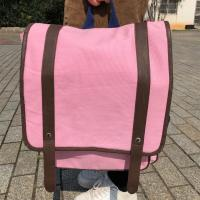 Best Large Custom Canvas Backpacks with Polyester Handle CMYK Color wholesale