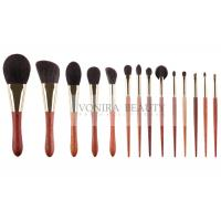 Best Goat Natural Hair Makeup Brushes Basic Daily Set With Special Luxury Ebony Handle wholesale