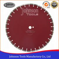 """Buy cheap 450mm Laser Welded Diamond Concrete Saw Blades, Key Slot, 1""""/22.23mm center hole from wholesalers"""