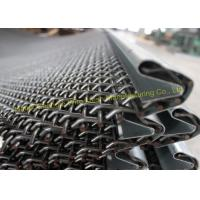 Best Plain Weave Wire Mesh Cloth 65Mn , 45Mn Black Pre Crimped Wire Mesh Corrosion Resistant wholesale
