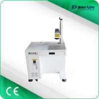 China Stainless steel aluminum copper fiber laser marker with 20w 30w 50w laser marking machine on sale