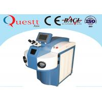 Quality Water Chiller YAG Laser Gold Laser Welding Machine 200 / 300 / 400W With 10X Microscope wholesale