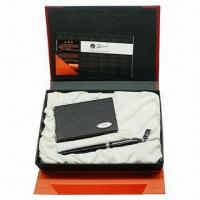 Best Promotional Business Gift Set with Metal Pen wholesale