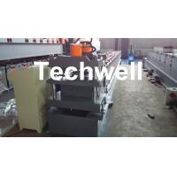Best Roof Ridge Cap Cold Roll Forming Machine with HRC 50-60 Cutting Blade wholesale