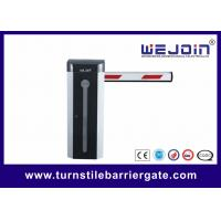 Best Automatic Car Park Electronic Barrier Gates With Protective Rubber And Led Traffic Light Boom wholesale