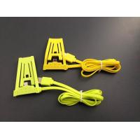 Best High Speed Charging Micro Usb Cable Yellow For Samsung Galaxy 2 With 4 Conductor wholesale