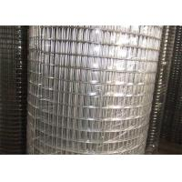 Best Custom 1X1 Galvanized Welded Wire Mesh For Construction Usage / Poultry Wire Fence wholesale