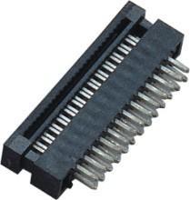 Best 1.27mm  2*13P  DIP Plug Connector PBT 30%GF UL94V-0  Brass  Sel Au/Ni wholesale