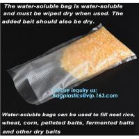Best Soft PVA Water Soluble Plasticfishing Lure Packaging, Bait Bags ForFishing, Dissolved In Water Fish wholesale