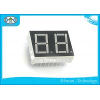 Best High Luminous 7 Segment 2 Digit Display 15 X 15 X 7.2mm Green For Calendar wholesale