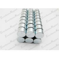 Best Strong Neodymium Magnets Dia 15 mm * 10 mm Thickness Zinc Coated For Holders wholesale