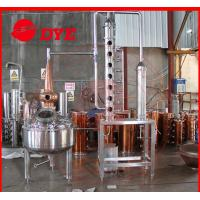 Best Micro Copper Distiller 200L - 5000L , Vodka Distillation Equipment wholesale